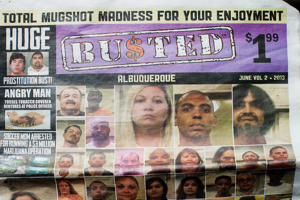 Albuquerque, busted, mugshots | MOMENT AGENCY | ARCHIVE