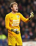 Nederland, Eindhoven,16 maart  2013.Eredivisie .Seizoen 2012-2013.PSV-RKC Waalwijk.Jeroen Zoet, keeper (doelman) van RKC
