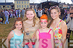 MUSIC SESSIONS: Orla O'Doherty, Aoife O'Mullane, Julia O'Doherty waiting to see JEDWARD at the Atlantic Music Sessions Festival on Sunday in Ballybunion..