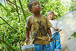 File Photo: When summertime comes, Japanese children with a net enjoy collecting insects such as rhinoceros beetles, butterflies, locusts, and so on. Around forests and rice paddies, they sometimes compete to catch more insects than other kids or work together to catch them. They let insects fight and keep them as pets afterwards.