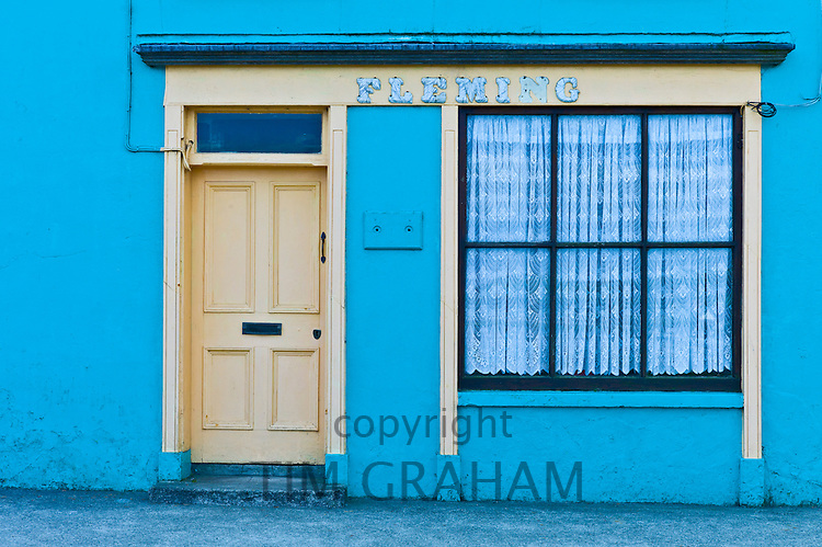 Fleming shop front at Courtmacsherry, County Cork, Ireland
