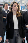 Princess Letizia of Spain during the inauguration of new industrial laundry center for special workers INDESA 2010.March 5,2013. (ALTERPHOTOS/Acero)