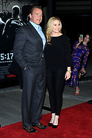 "LOS ANGELES - FEB 5:  Arnold Schwarzenegger, Heather Milligan at the ""The 15:17 To Paris"" World Premiere at the Warner Brothers Studio on February 5, 2018 in Burbank, CA"