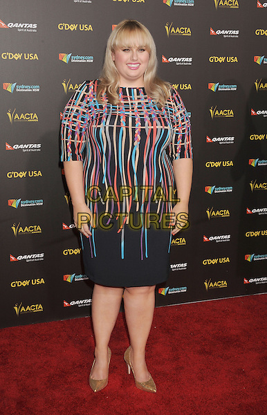LOS ANGELES, CA - JANUARY 31: Actress Rebel Wilson attends the 2015 G'Day USA Gala featuring the AACTA International Awards presented by Qantas at Hollywood Palladium on January 31, 2015 in Los Angeles, California.<br /> CAP/ROT/TM<br /> &copy;TM/ROT/Capital Pictures