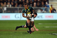 Elton Jantjies in action during the Rugby Championship match between the New Zealand All Blacks and South Africa Springboks at QBE Stadium in Albany, Auckland, New Zealand on Saturday, 16 September 2017. Photo: Shane Wenzlick / lintottphoto.co.nz