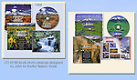 John's first two stock photo catalogs were digital. Designed by John and his wife. <br />