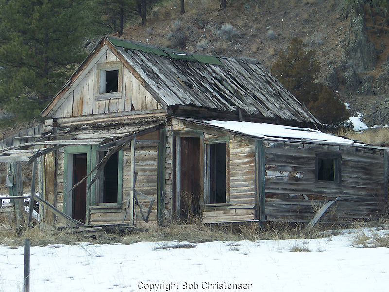Old Buildings in Montana