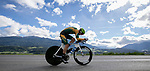 Stefan De Bod (RSA) in action during the Men's Under-23 Individual Time Trial of the 2018 UCI Road World Championships running 20km around Innsbruck, Innsbruck-Tirol, Austria 2018. 24th September 2018.<br /> Picture: Innsbruck-Tirol 2018/Jan Hetfleisch | Cyclefile<br /> <br /> <br /> All photos usage must carry mandatory copyright credit (&copy; Cyclefile | Innsbruck-Tirol 2018/Jan Hetfleisch)