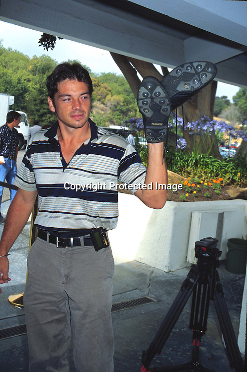 "©KATHY HUTCHINS/HUTCHINS.6/23/97 "" APLA GOLF TOURNAMENT"".JASON GEDRICK"