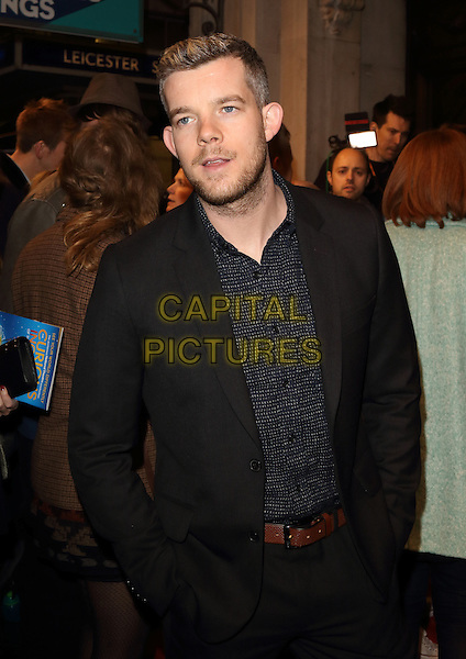 LONDON, ENGLAND -  Russell Tovey at 'People, Places and Things' - VIP opening night at Wyndhams Theatre, London on March 23rd 2016<br /> CAP/ROS<br /> &copy;Steve Ross/Capital Pictures