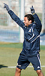 Madrid (24/02/10).-Entrenamiento del Real Madrid..Marcelo...© Alex Cid-Fuentes/ ALFAQUI..Madrid (24/02/10).-Training session of Real Madrid c.f..Marcelo...© Alex Cid-Fuentes/ ALFAQUI.