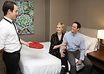 """Jordan Sobel, Megan Pickrell and Patrick Cummings during a photo shoot for """"Fiercely Independent"""" at the Hilton Garden Inn on February 12, 2019 in New York City."""