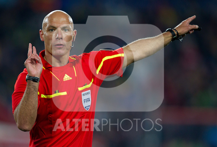 Referee Howard Webb (ENG) during the 2010 FIFA World Cup South Africa. EXPA Pictures © 2010, PhotoCredit: EXPA/ Sportida/ Vid Ponikvar +++ Slovenia OUT +++