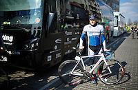 Gerald Ciolek (DEU/St&ouml;lting) before the start <br /> <br /> 71st Nokere Koerse