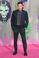 "Jay Hernandez<br /> arrives for the ""Suicide Squad"" premiere at the Odeon Leicester Square, London.<br /> <br /> <br /> ©Ash Knotek  D3142  03/08/2016"