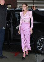 NEW YORK, NY - NOVEMBER 13: Gigi Hadid seen In New York City on November 13, 2017. Credit: RW/MediaPunch /NortePhoto.com