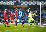 4.3.2018: Rangers v Falkirk Scottish Cup QF<br /> Jason Cummings scores for Rangers