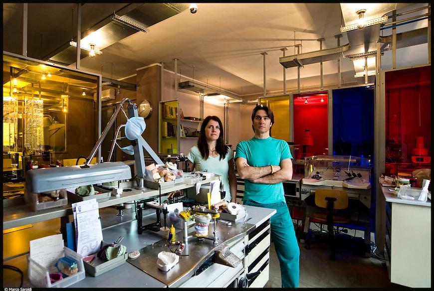 Il laboratorio odontotecnico Catalani & Adriano ha aderito al Progetto FaciliTo di Barriera di Milano. Marzo 2013