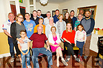 Eileen McCarthy from Greenview Terrace Tralee celebrating her birthday 6 months early, as all the family are together, on Tuesday in the Brogue Inn.<br /> Seated l to r:  Seamus, Eileen and Lauren McCarthy