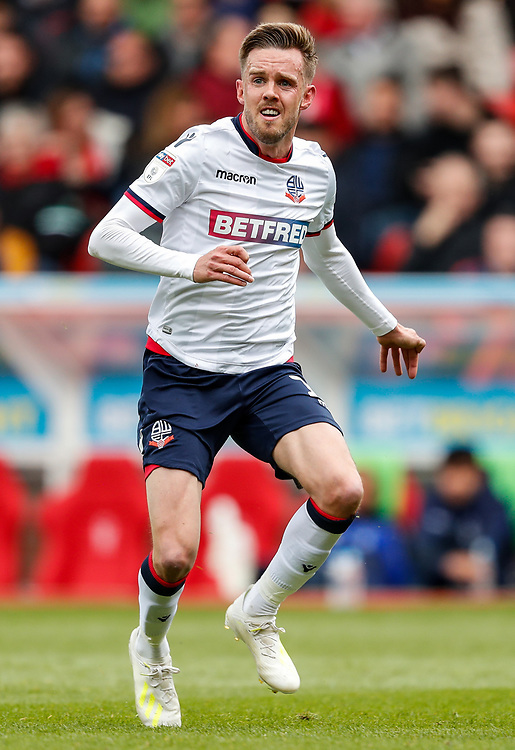 Bolton Wanderers' Craig Noone <br /> <br /> Photographer Andrew Kearns/CameraSport<br /> <br /> The EFL Sky Bet Championship - Nottingham Forest v Bolton Wanderers - Sunday 5th May 2019 - The City Ground - Nottingham<br /> <br /> World Copyright © 2019 CameraSport. All rights reserved. 43 Linden Ave. Countesthorpe. Leicester. England. LE8 5PG - Tel: +44 (0) 116 277 4147 - admin@camerasport.com - www.camerasport.com