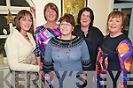 Pictured at the Killarney bikers Christmas Party in the Kerry Way, Glenflesk, on Saturday night were Eilish Coffey, Caroline Sweetman, Brid Coffey, Shirley Murphy and Helen Fitzgerald.