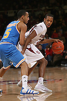 STANFORD, CA - JANUARY 9:  Jarrett Mann of the Stanford Cardinal during Stanford's 70-59 win over the UCLA Bruins on January 9, 2009 at Maples Pavilion in Stanford, California.