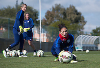 USWNT Training, Saturday, February 28, 2015