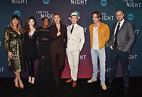 "LOS ANGELES, CA - MAY 09: (L-R) Patty Jenkins, India Eisley, Golden Brooks, Connie Nielsen, Jefferson Mays, Chris Pine and Sam Sheridan attend TNT's ""I Am The Night"" EMMY For Your Consideration Event at the Television Academy on May 09, 2019 in Los Angeles, California.<br /> CAP/ROT/TM<br /> ©TM/ROT/Capital Pictures"