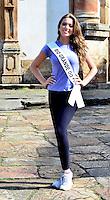 OURO PRETO, MG, 20.09.2013 - MISS BRASIL 2013 - Miss Rio Grande do Sul, Vitória Centenaro candidata a Miss Brasil 2013 durante visita a cidade historica de Ouro Preto a 100 km de Belo Horizonte. (Foto: Eduardo Tropia / Brazil Photo Press)
