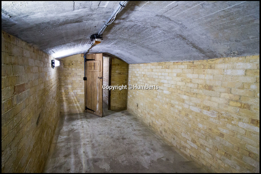 """BNPS.co.uk (01202 558833)Pic: Humberts/BNPS<br /> <br /> The underground former operations room where Sir Winston Churchill visited during WW II.<br /> <br /> A former coastguard station that played an important role in the Second World War and was visited by Sir Winston Churchill is now a tea room and holiday let business on the market for £1.5m.<br /> <br /> Bluebird Tea Rooms sits in a stunning position on top of the iconic White Cliffs of Dover with breathtaking panoramic views across the English Channel.<br /> <br /> The lookout post played an important part in Britain's defences during the Second World War and the underground operations room, built 35ft below the building, was visited by Churchill twice during the war.<br /> <br /> That room is now just used for storage but the building would make a great business for someone or could potentially become a stunning family home if permission was granted for change of use.<br /> <br /> The """"one of a kind"""" property is now on the market with Humberts."""
