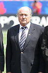 22 July 2007: FIFA President Joseph (Sepp) Blatter. At the National Soccer Stadium, also known as BMO Field, in Toronto, Ontario, Canada. Chile's Under-20 Men's National Team defeated Austria's Under-20 Men's National Team 1-0 in the third place match of the FIFA U-20 World Cup Canada 2007 tournament.