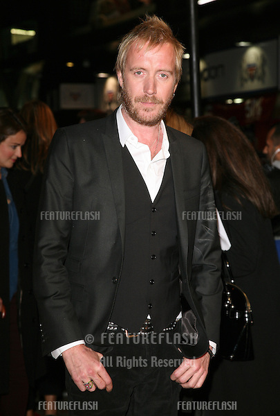 Rhys Ifans attending the premiere of 'Anonymous' at The 55th BFI London Film Festival at Empire Cinema, London. 25/10/2011 Picture by: Alexandra Glen / Featureflash