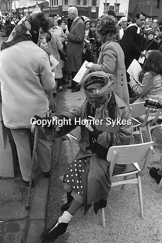 Good Friday prayer meeting, Hebden Bridge, Yorkshire UK  1974 <br /> <br /> My ref 5a/746/, 1974