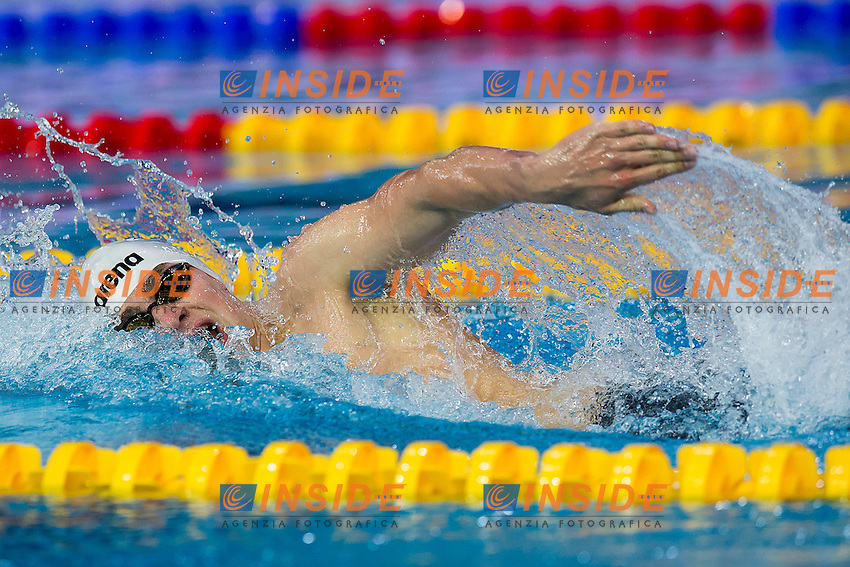 Brandt Moritz GER<br /> 400 Freestyle Men Final Gold Medal<br /> LEN 43rd Arena European Junior Swimming Championships<br /> Hodmezovasarhely, Hungary <br /> Day01 06-07-2016<br /> Photo Andrea Masini/Deepbluemedia/Insidefoto
