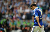 FUSSBALL   1. BUNDESLIGA   SAISON 2011/2012   33. SPIELTAG FC Schalke 04 - Hertha BSC Berlin                         28.04.2012 Raul (FC Schalke 04)