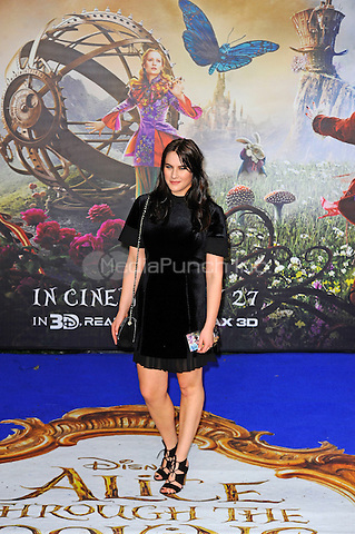 LONDON, ENGLAND - MAY 10: Kat Shoob attending the 'Alice Through The Looking Glass' European Premiere at Odeon Cinema, Leicester Square in London. on May 10, 2016 in London, England.<br /> CAP/MAR<br /> &copy; Martin Harris/Capital Pictures /MediaPunch ***NORTH AND SOUTH AMERICA ONLY***