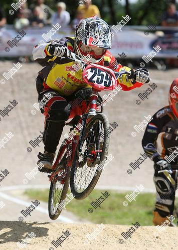 2008-08-15 / BMX / Ravels / Boys 10 / Ruben Gommers..Foto: Maarten Straetemans (SMB)