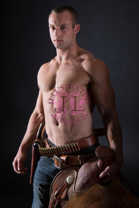 western cowboy romance novel cover photograph by Jenn LeBlanc and Studio Smexy