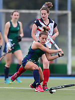 St Cuthbert's College v New Plymouth Girls High. Federation Cup Hockey, Lloyd Elsmore Park, Auckland, New Zealand, Tuesday 3 September 2019. Photo: Simon Watts/www.bwmedia.co.nz/HockeyNZ