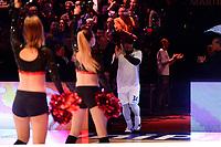 GRONINGEN - Basketbal, Donar - Den Helder Suns, Martiniplaza, Dutch Basketbal League,  seizoen 2018-2019, 27-11-2018,  opkomst Donar speler Lance Jeter