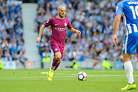 David Silva of Manchester City (21)  during the EPL - Premier League match between Brighton and Hove Albion and Manchester City at the American Express Community Stadium, Brighton and Hove, England on 12 August 2017. Photo by Edward Thomas / PRiME Media Images.