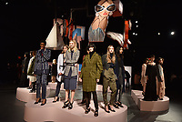 BCBGMAXAZRIA Fall/Winter 2018 presentation during the New York Fashion Week