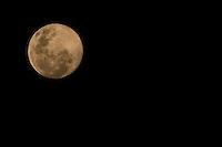 SAO PAULO, SP, 11.06.2014 - LUA CHEIA - Lua cheia vista na cidade de Sao Paulo, na noite desta sexta-feira, 11 . (Foto: Andre Hanni /Brazil Photo Press).