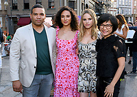 BEVERLY HILLS - AUGUST 7: Frank Harts, Aurora Perrineau, Halston Sage and Keiko Agena attend the FOX 2019 Summer TCA All-Star Party on New York Street on the FOX Studios lot on August 7, 2019 in Los Angeles, California. (Photo by Vince Bucci/FOX/PictureGroup)