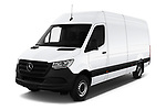 2019 Mercedes Benz Sprinter Cargo Van Base 4 Door Cargo Van angular front stock photos of front three quarter view