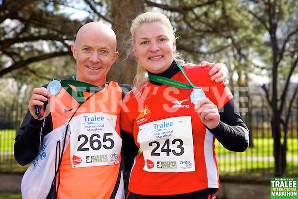 0265 Brian Hobbert 0243 Inga Grubinskaite who took part in the Kerry's Eye, Tralee International Marathon on Saturday March 16th 2013.