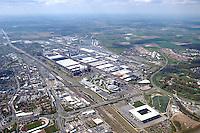 Deutschland, Niedersachsen, Wolfsburg, Volkswagen, VW, Werksgelaende, Fabrik, Vfl Wolfsburg, Stadion