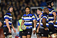 Anthony Watson of Bath Rugby looks on. Aviva Premiership match, between Bath Rugby and Wasps on December 29, 2017 at the Recreation Ground in Bath, England. Photo by: Patrick Khachfe / Onside Images