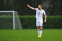 Brandon Cooper of Swansea City u23s' during the Premier League 2 Division Two match between Swansea City u23s and Middlesbrough u23s at Swansea City AFC Training Academy  in Swansea, Wales, UK. Monday 13 January 2020.