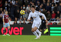 Pictured: Nelson Oliveira, the new signing for Swansea Saturday 10 January 2015<br />